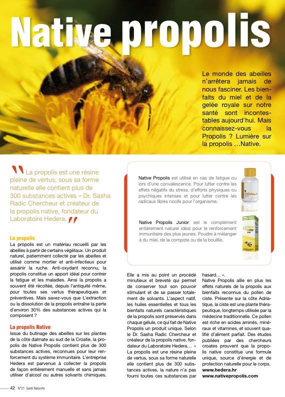 Extrait de Santé Naturelle n° 27